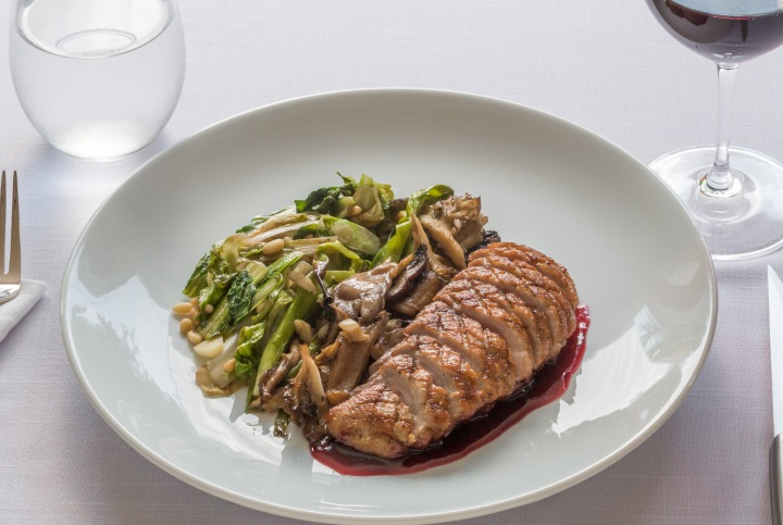 pan-seared-duck-breast-wilted-organic-escarole-scallions-and-local-mushrooms-with-blackberry-gastrique-4862