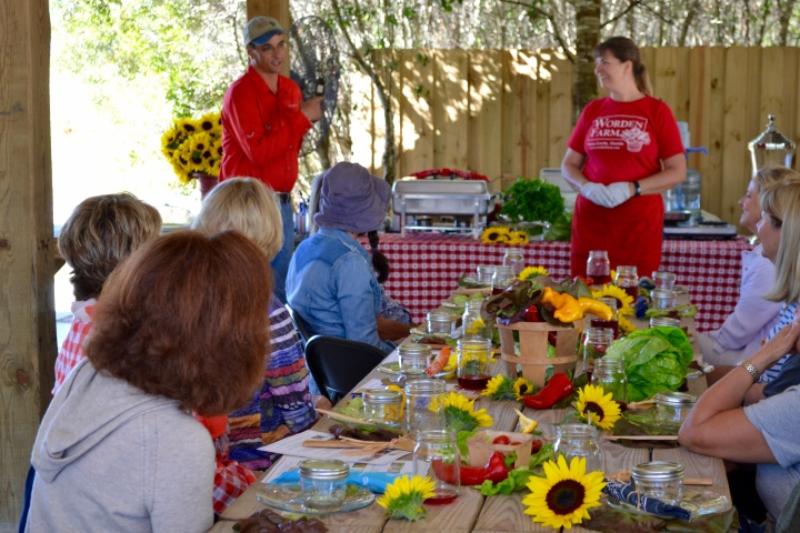 Worden Farm to Table Cooking Demo Lunch 2017 03 Farmer Chris