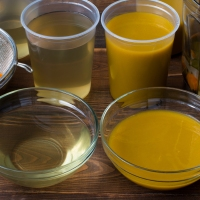 Basic Vegetable Stock (Clear and Puréed)