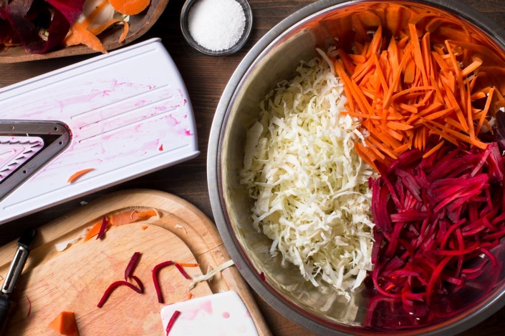 Miz for cabbage, beet, and carrot sauerkraut lr-7905