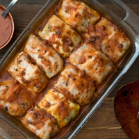 """Are You Sure There Is No Meat In This!?!"" Stuffed Cabbage Rolls"