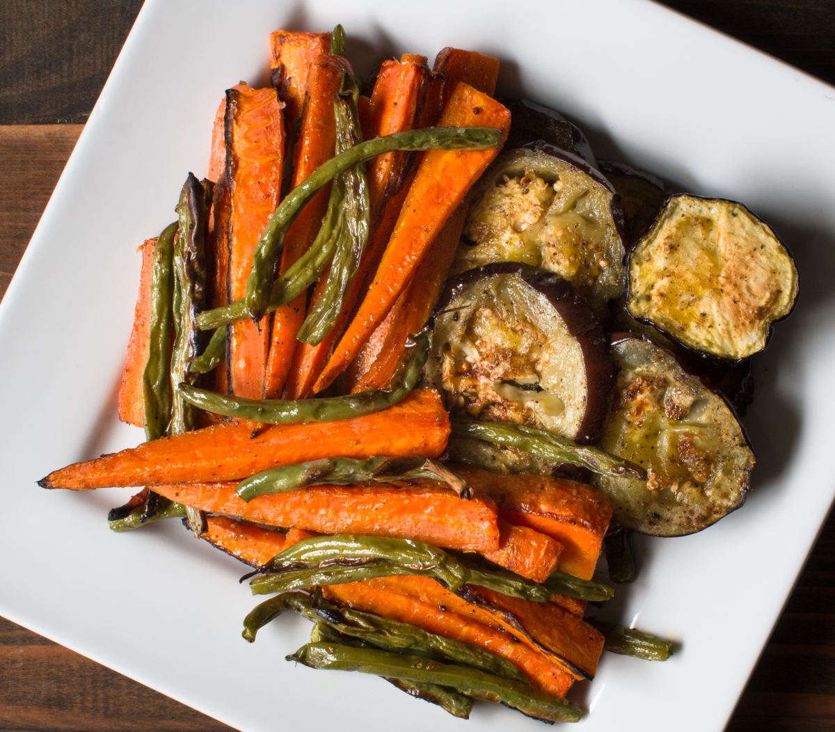 Roasted Vegetables with Mustard Oil and Indian Five Spice (Panch ...
