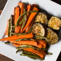 Roasted Vegetables with Mustard Oil and Indian Five Spice (Panch Phoron)