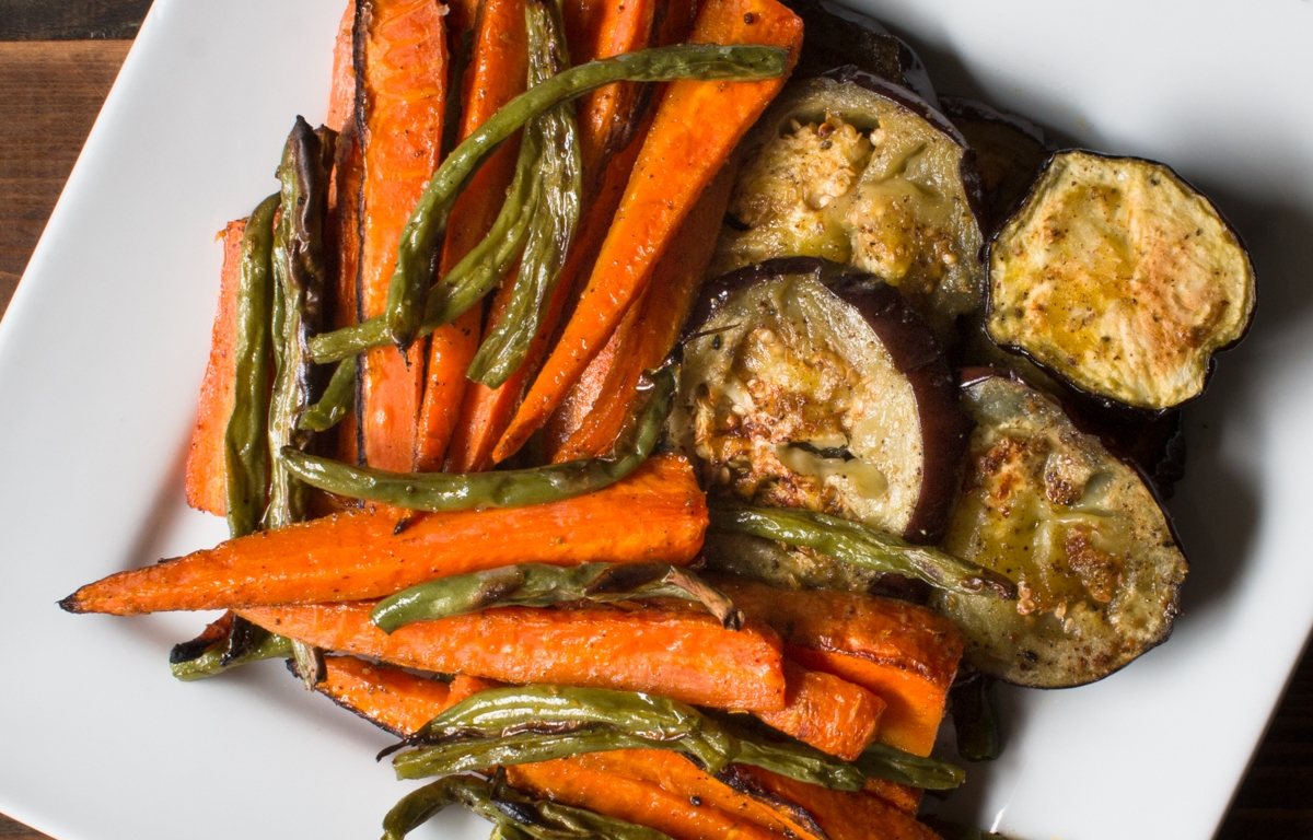Roasted Vegetables with Mustard Oil and Indian Five Spice ...