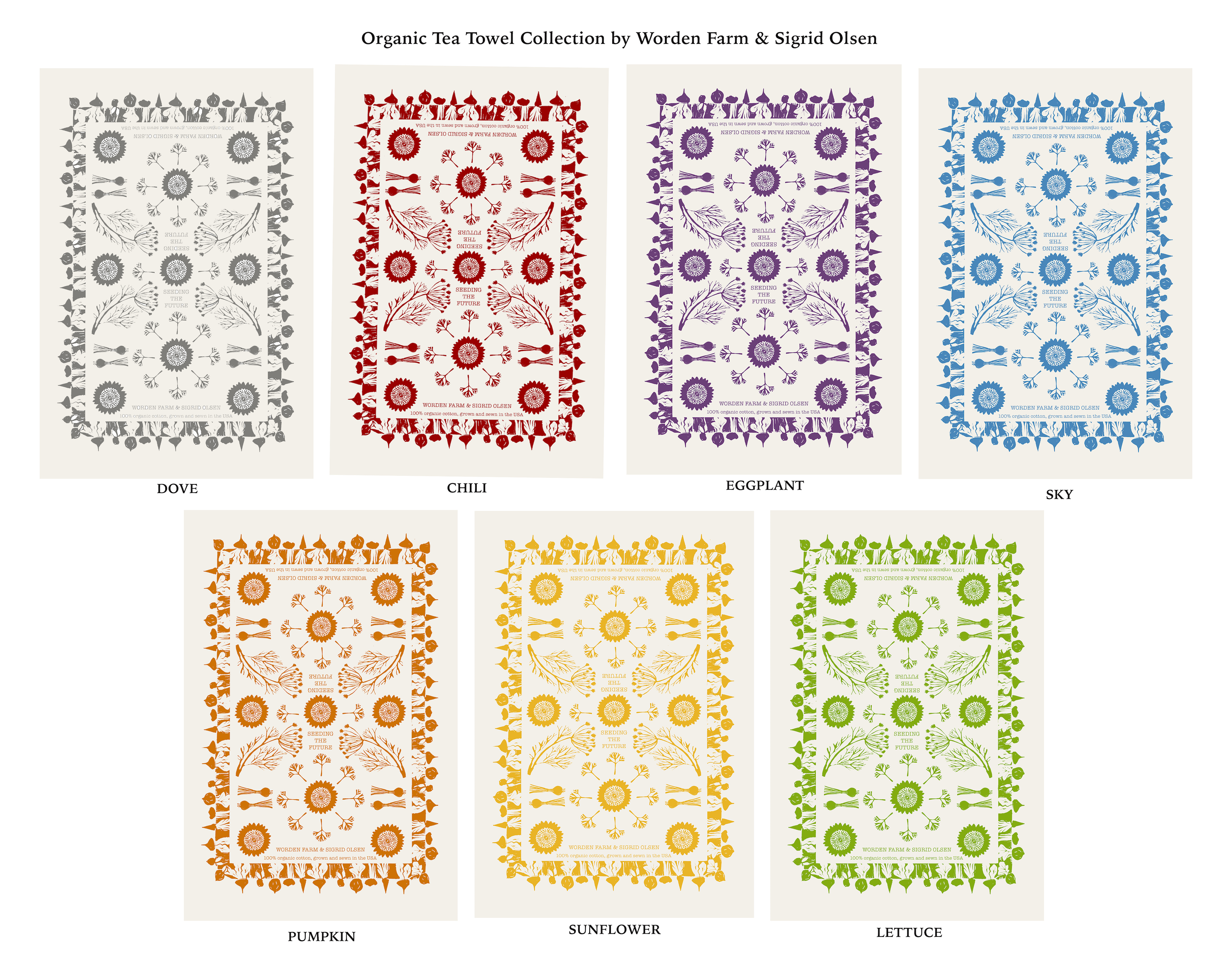 Tea Towel Collection 7 colors.jpg